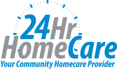 24hr Home Cares | Logo