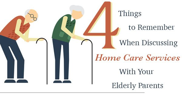 4 Things to Remember When Discussing Home Care Services With Your Elderly Parents