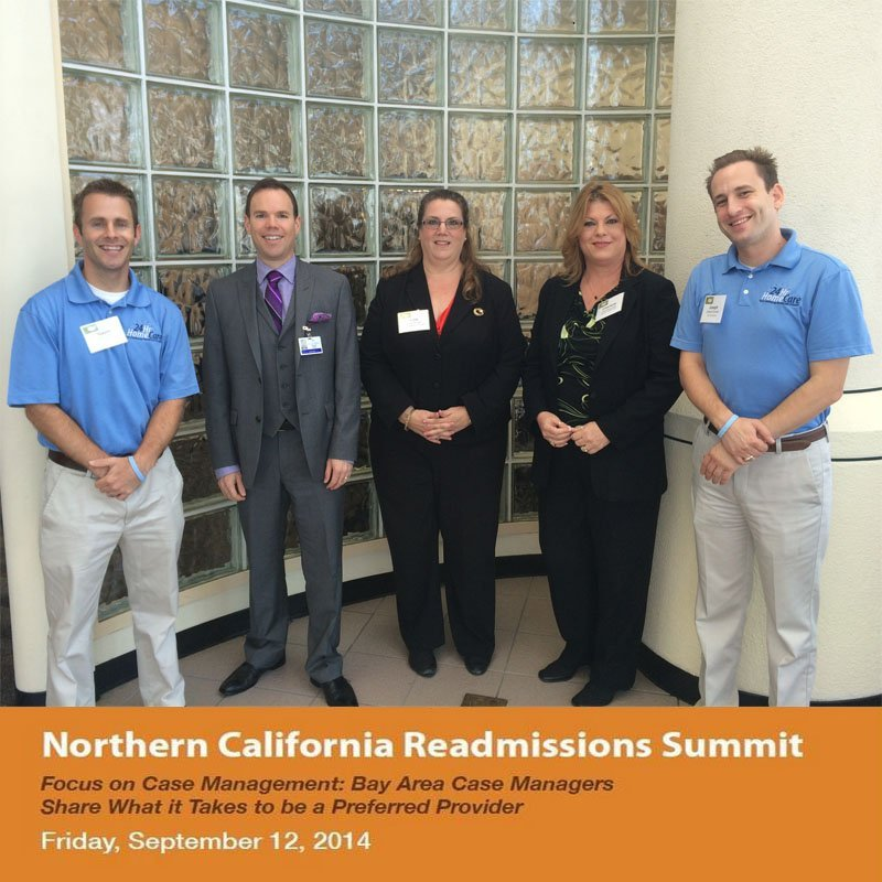 24 Hour Home Care Sponsors the First Annual Northern California Readmission Summit 2014