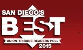 Vote For Union Tribune's Best of San Diego