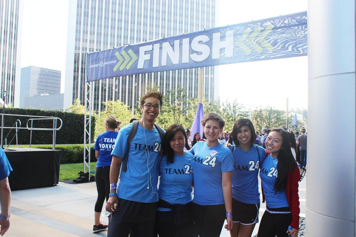 Join us at the Los Angeles Walk to End Alzheimer's This Sunday, 11/2