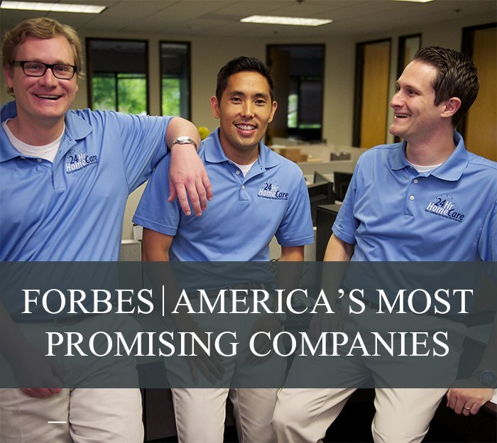 24 Hour Home Care Named #24 on Forbes' 2014 List of America's Most Promising Companies