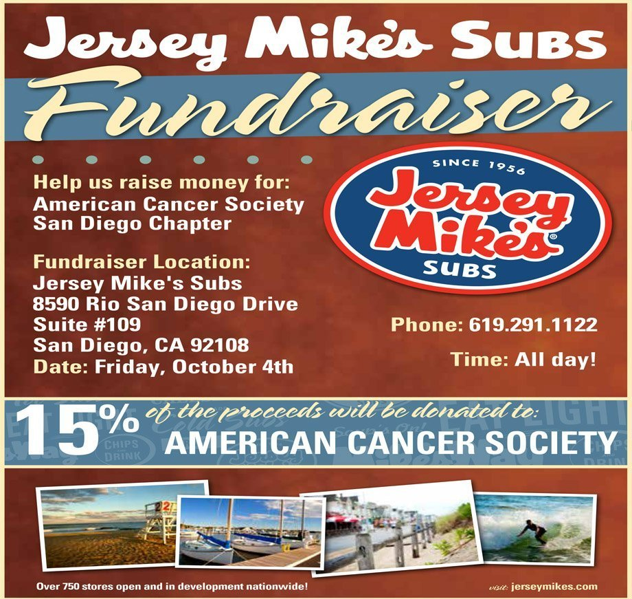 Dine to Donate: 24 Hour Home Care Partners with Jersey Mike's Subs' San Diego Location to Fundraise for the American Cancer Society