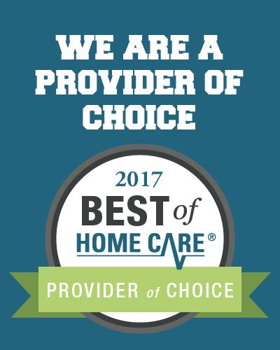 24 Hour Home Care-Dallas Receives 2017 Best of Home Care® Provider of Choice Award
