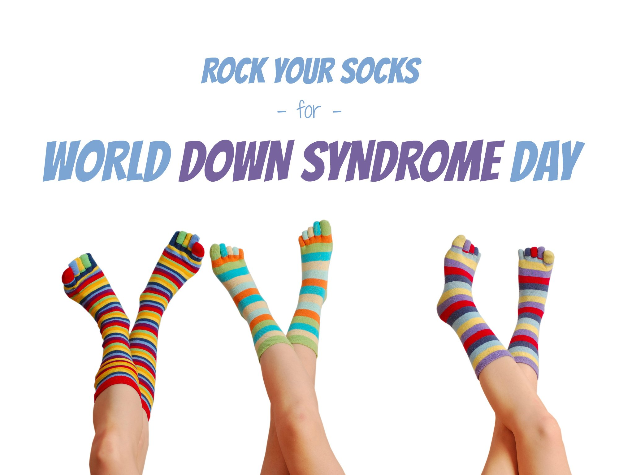 Rock Your Socks World Down Syndrome Day Crazy Socks