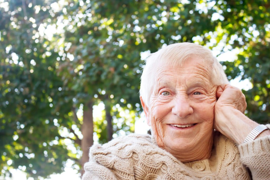 Smiling senior 3