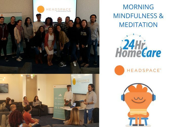 24 Hour Home Care Partners with Meditation App Headspace® to Promote Wellness in the Workplace