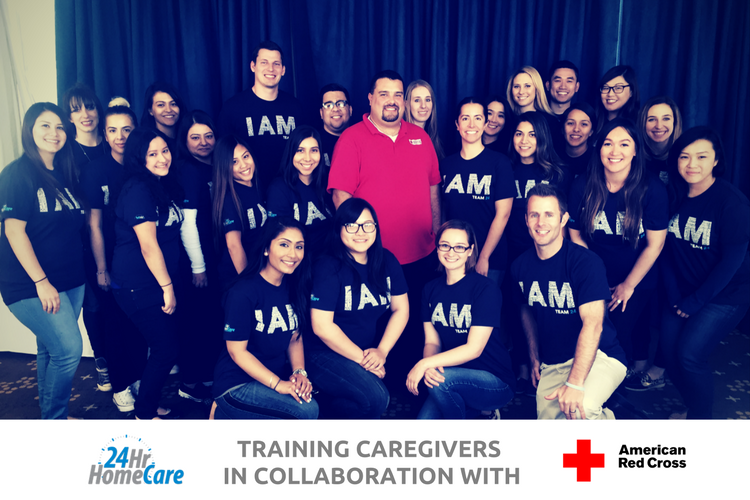 24 Hour Home Care Teams Up with the American Red Cross to Provide Caregivers with Emergency Preparedness Training