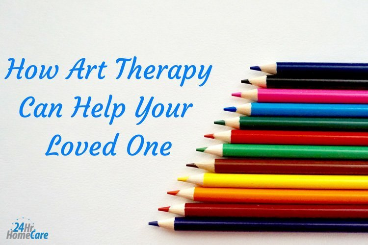 How Art Therapy Can Help Your Senior Loved One