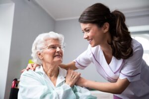 Nurse with Senior