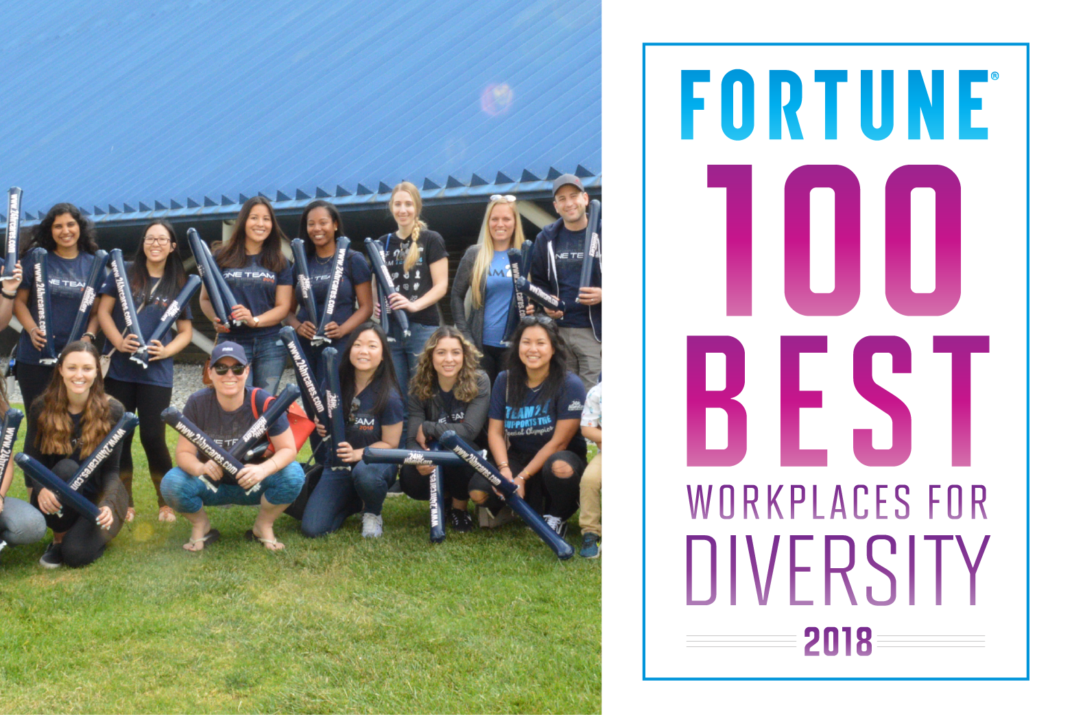 24Hr HomeCare Named One of the 2018 Best Workplaces for Diversity by Great Place to Work® and FORTUNE