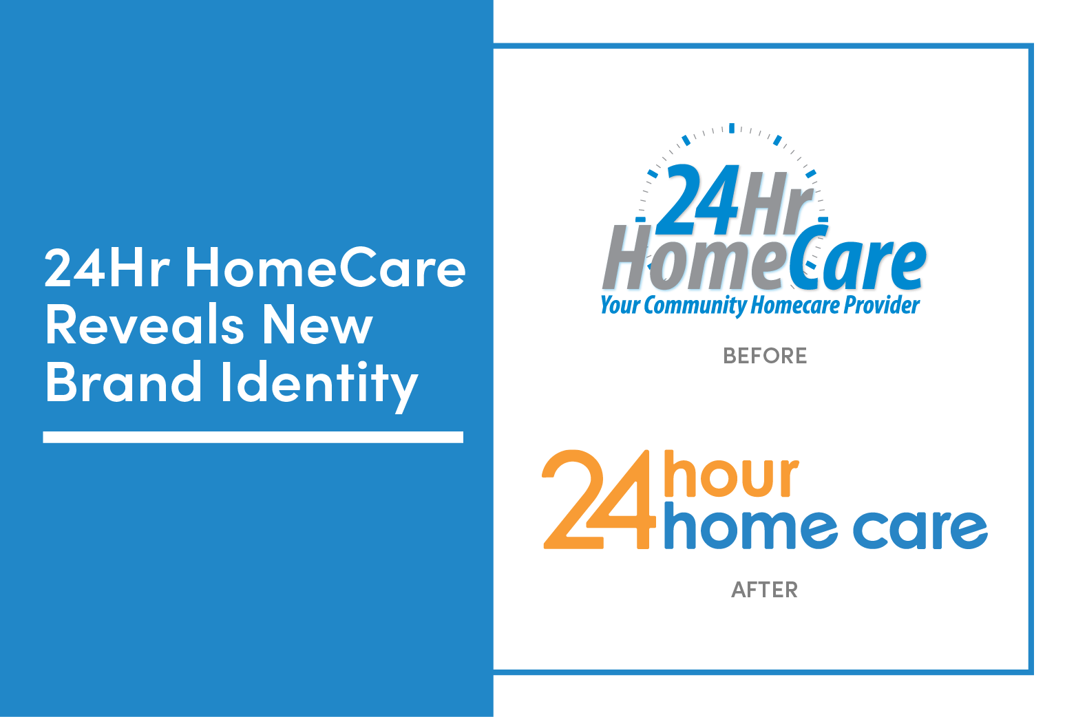 24 Hour Home Care Unveils New Brand Identity